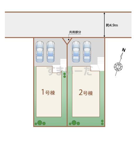 ハートフルタウン 泉区永和台III期の見取り図