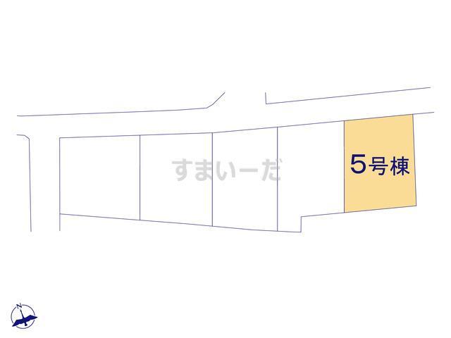 クレイドルガーデン 伊勢崎市境女塚 第5の見取り図