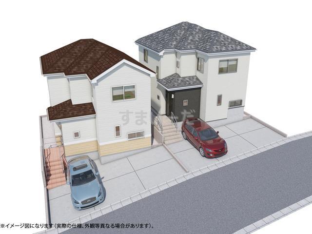 ハートフルタウン 仙台青山5期の外観①