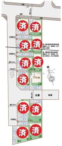 ハートフルタウン 昭島美堀町の見取り図