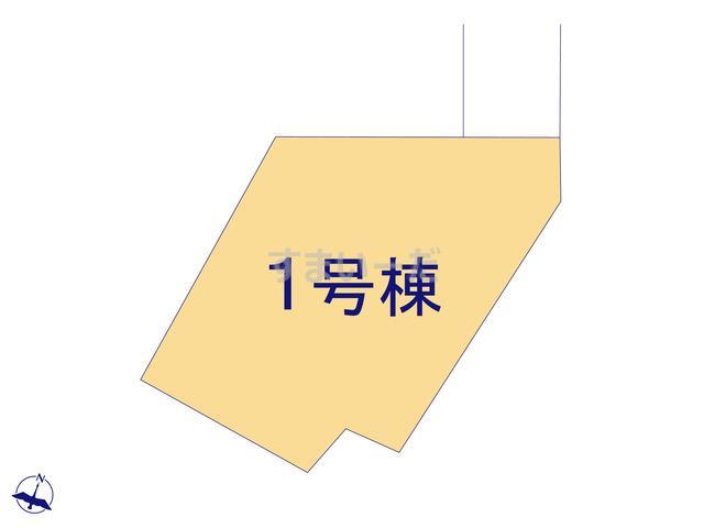 クレイドルガーデン 上田市五加 第1の見取り図