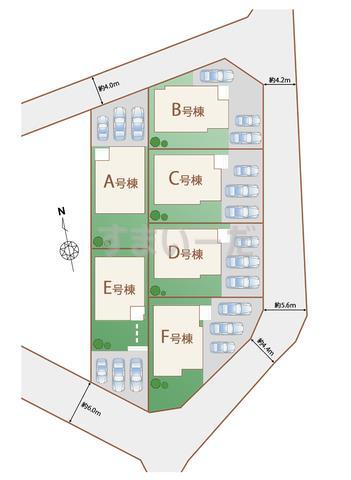 ハートフルタウン うるま市石川東恩納IVの見取り図