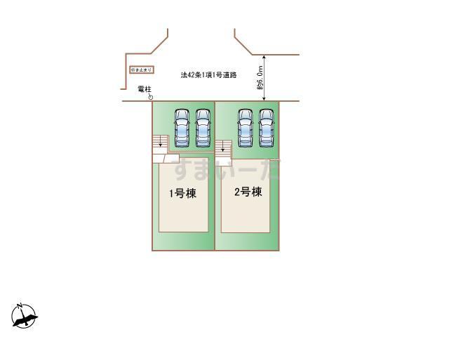 ハートフルタウン 神戸北区有野台Ⅲの見取り図