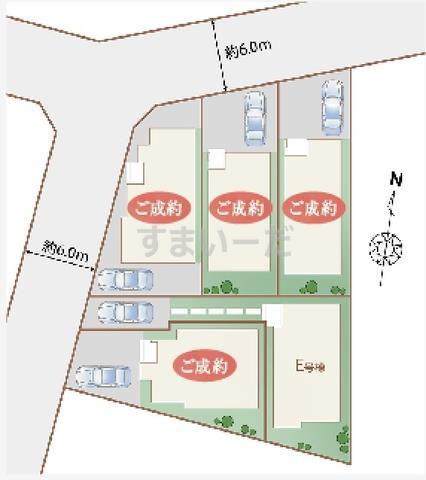 ハートフルタウン 相模原市橋本台の見取り図