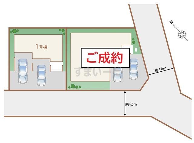 ハートフルタウン 仙台福室9期の見取り図