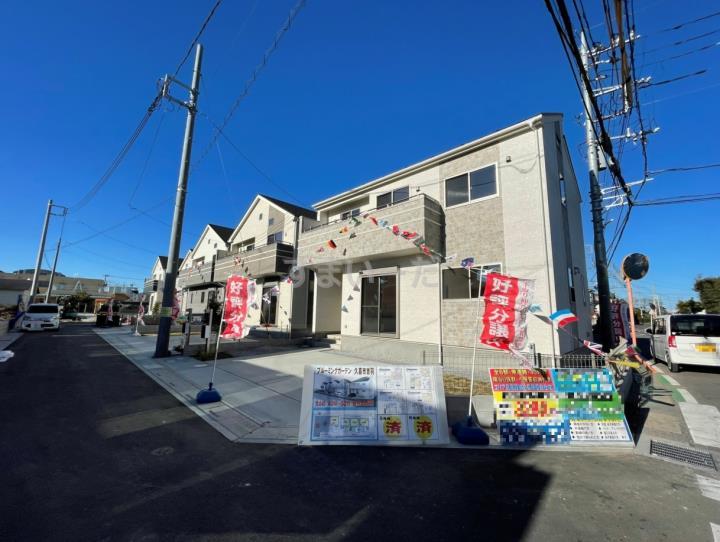 ブルーミングガーデン 久喜市吉羽6棟-長期優良住宅-の外観①