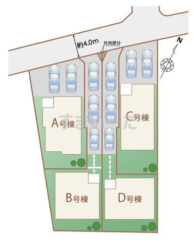 ハートフルタウン 名護市屋部IIの見取り図