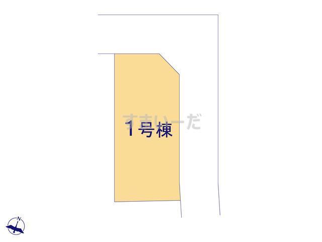 ハートフルタウン 狭山祇園2期の見取り図