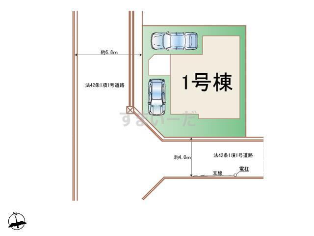 ハートフルタウン 大和市上和田1316番の見取り図