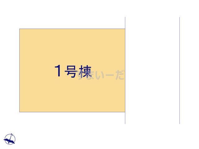 ハートフルタウン 大田区西蒲田8期の見取り図