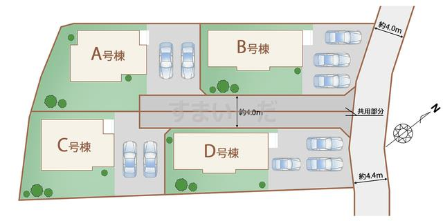 ハートフルタウン 御殿場川島田の見取り図