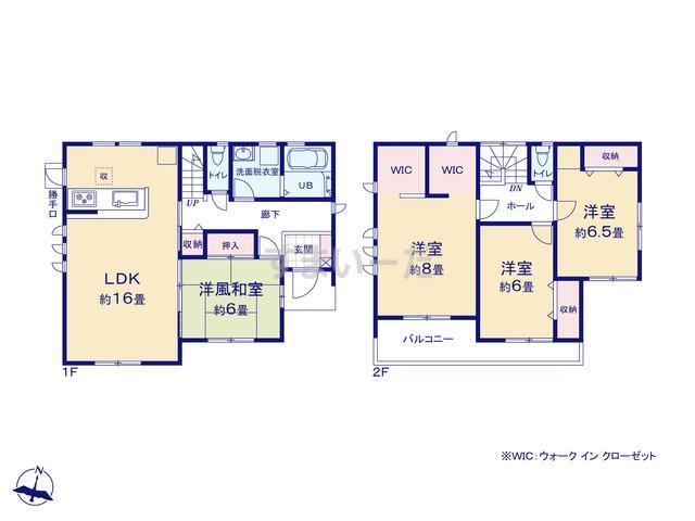 リーブルガーデン 第10渋川八木原の見取り図