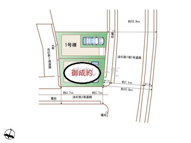ハートフルタウン 神戸東灘魚崎中町の見取り図
