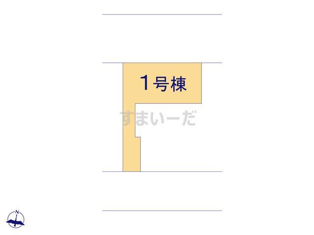 ハートフルタウン 神戸西狩場台Vの見取り図