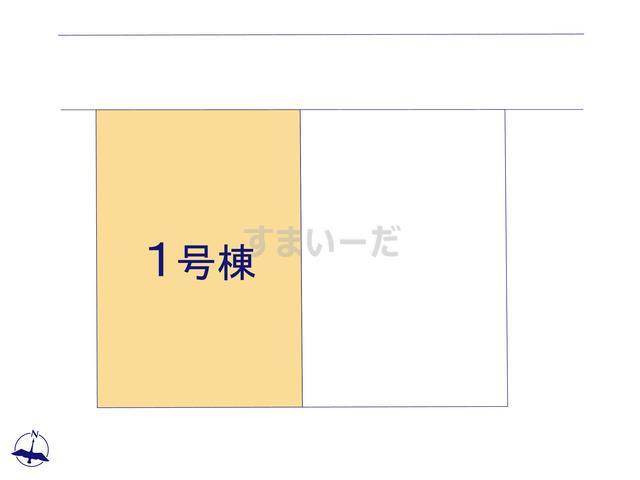 クレイドルガーデン 十和田市ひがしの 第1の見取り図