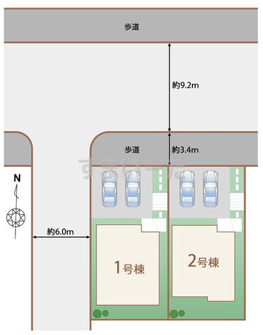 ハートフルタウン 神戸北有野台の見取り図