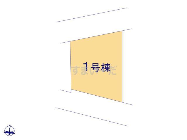 リナージュ 平塚市中里21-1期の見取り図