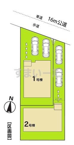 ハートフルタウン 第1岩槻区東町の見取り図
