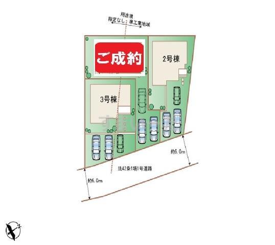 ハートフルタウン 読谷村喜名の見取り図