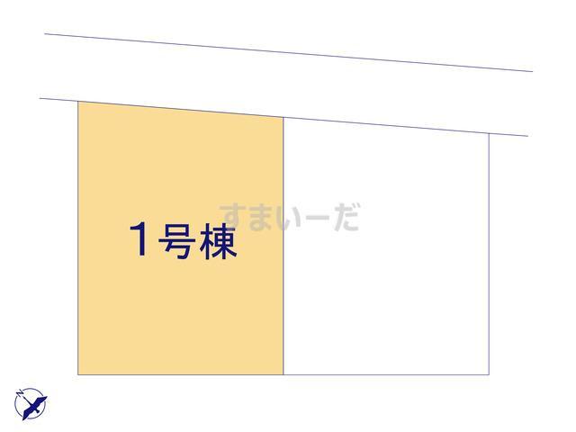 クレイドルガーデン 上田市中之条 第2の見取り図