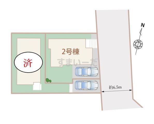 ハートフルタウン 神戸西学園東町IIIの見取り図
