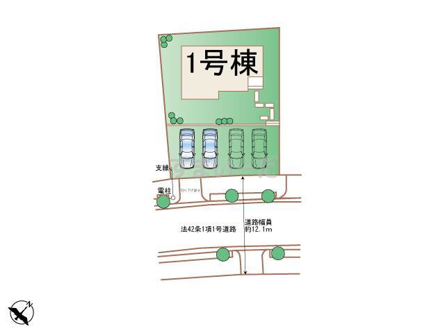ハートフルタウン 神戸西桜が丘西町Ⅱの見取り図