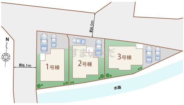 ハートフルタウン 仙台四郎丸15期の見取り図