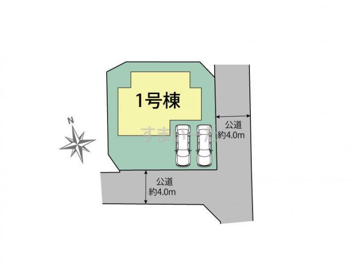 ブルーミングガーデン 福岡市南区屋形原3丁目1棟-長期優良住宅-の見取り図