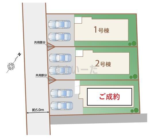 ハートフルタウン 仙台南光台35期の見取り図