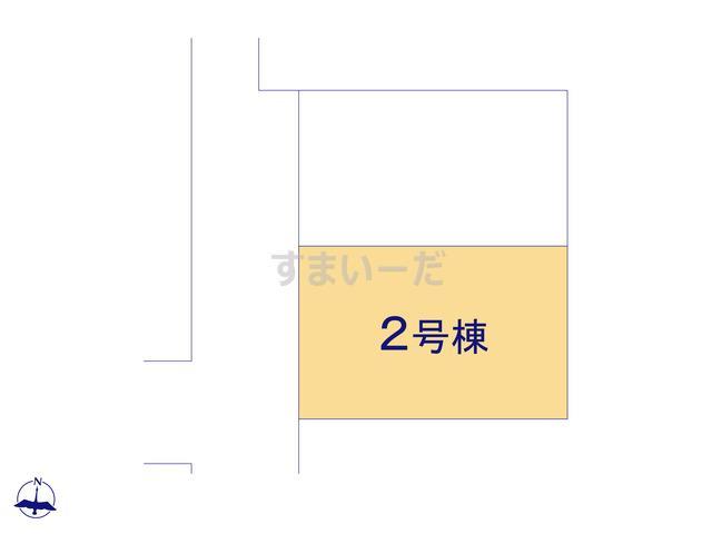 大田久が原3丁目の見取り図