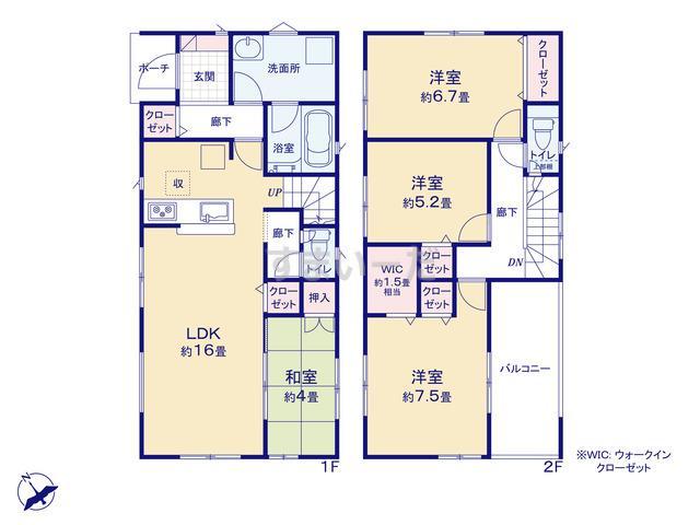 クレイドルガーデン 相模原市中央区上矢部 第31の見取り図