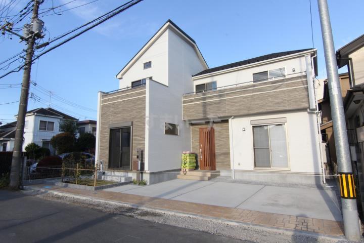 ブルーミングガーデン さいたま市見沼区御蔵3期1棟-長期優良住宅-の外観①