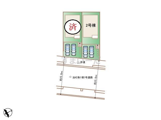 ハートフルタウン 神戸北鈴蘭台南町IIIの見取り図