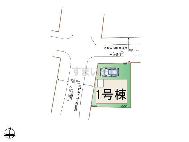 ハートフルタウン 品川区豊町Ⅱの見取り図