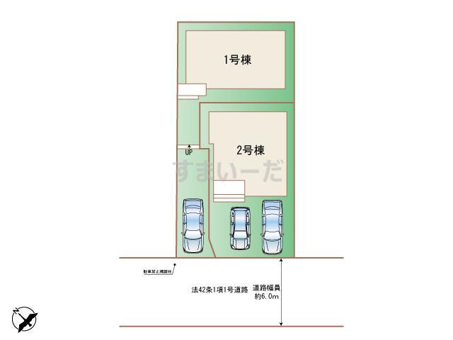 ハートフルタウン (西宮)神戸垂水区本多聞の見取り図