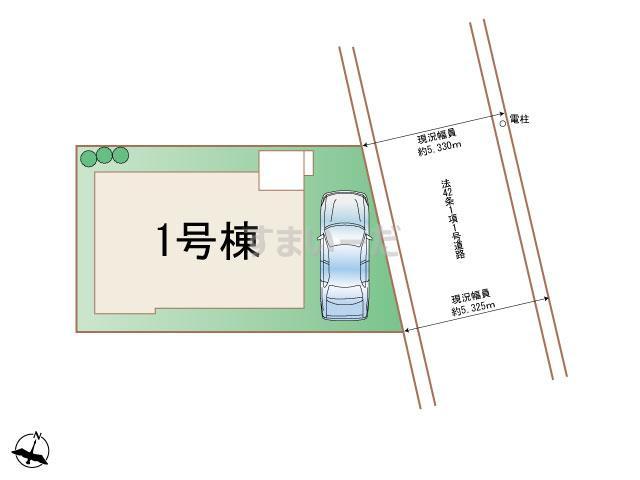 ハートフルタウン 大田区久が原12期の見取り図