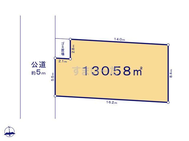 リナージュ 平塚市四之宮18-1期の見取り図