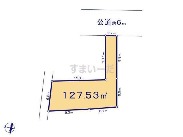 リーブルガーデン 日野平山第3の見取り図