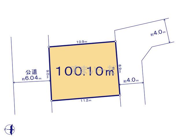 クレイドルガーデン 上尾市瓦葺 第12の見取り図