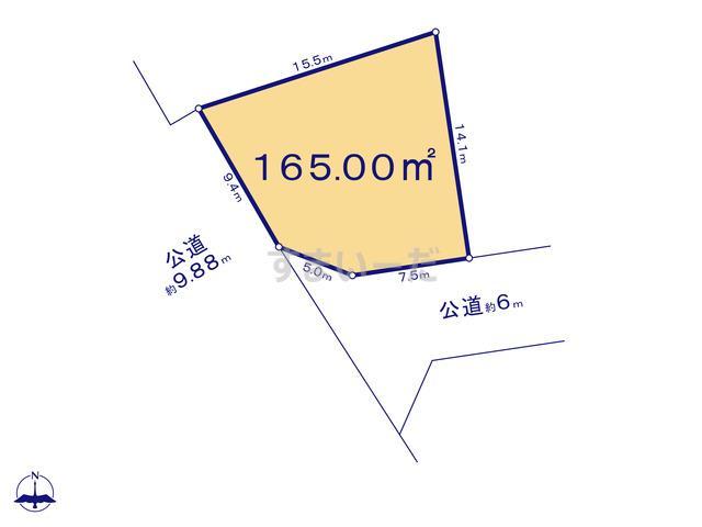 クレイドルガーデン 仙台市太白区袋原 第11の見取り図