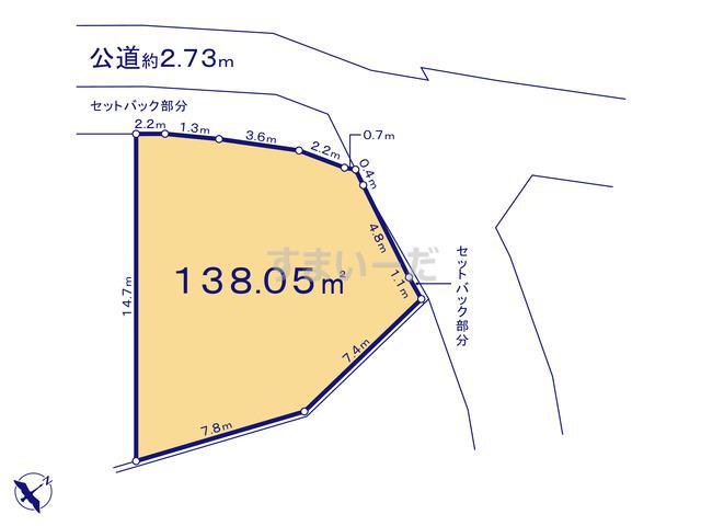 リナージュ 平塚市岡崎19-1期の見取り図