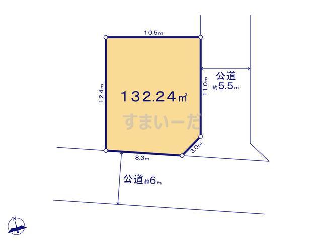 リナージュ 千葉市若葉区桜木18-1期 2期の見取り図