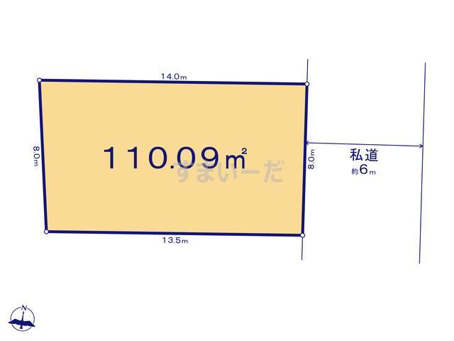 リナージュ さいたま市南区大谷口19-2期の見取り図