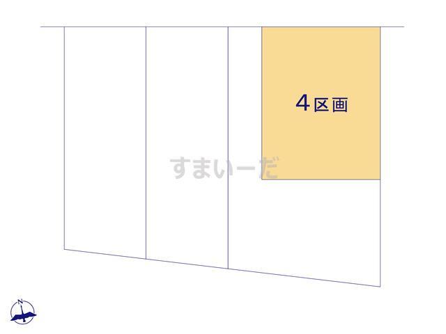 グラファーレ 千葉市小仲台2期4棟の見取り図
