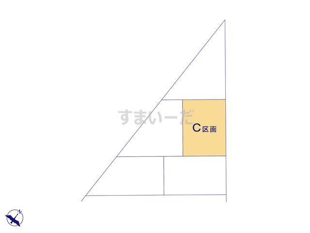 ハートフルタウン 葵区北安東6期の見取り図