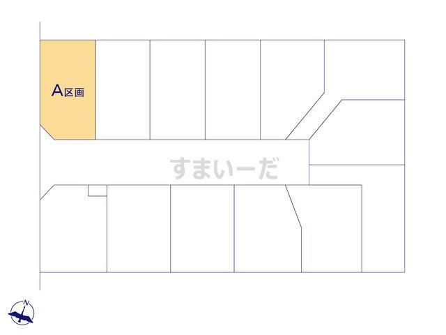 ハートフルタウン さいたま市桜区白鍬の見取り図