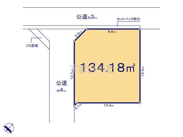 リナージュ さいたま市西区土屋20-1期の見取り図