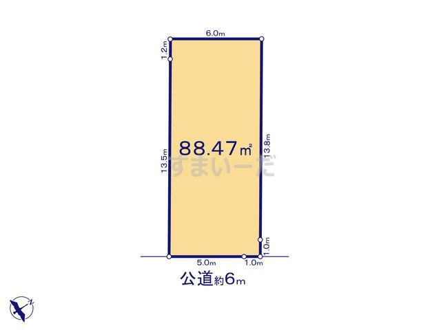 リナージュ 静岡市駿河区西中原20-1期の見取り図