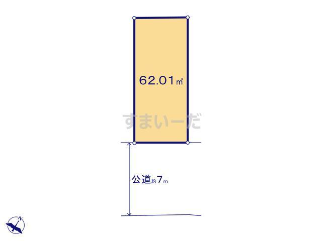 ハートフルタウン 大田区大森東10期の見取り図