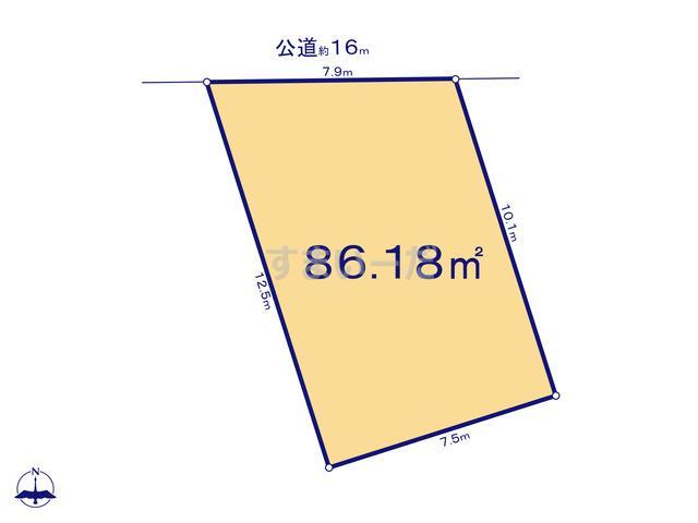 ハートフルタウン 足立区竹の塚7期の見取り図